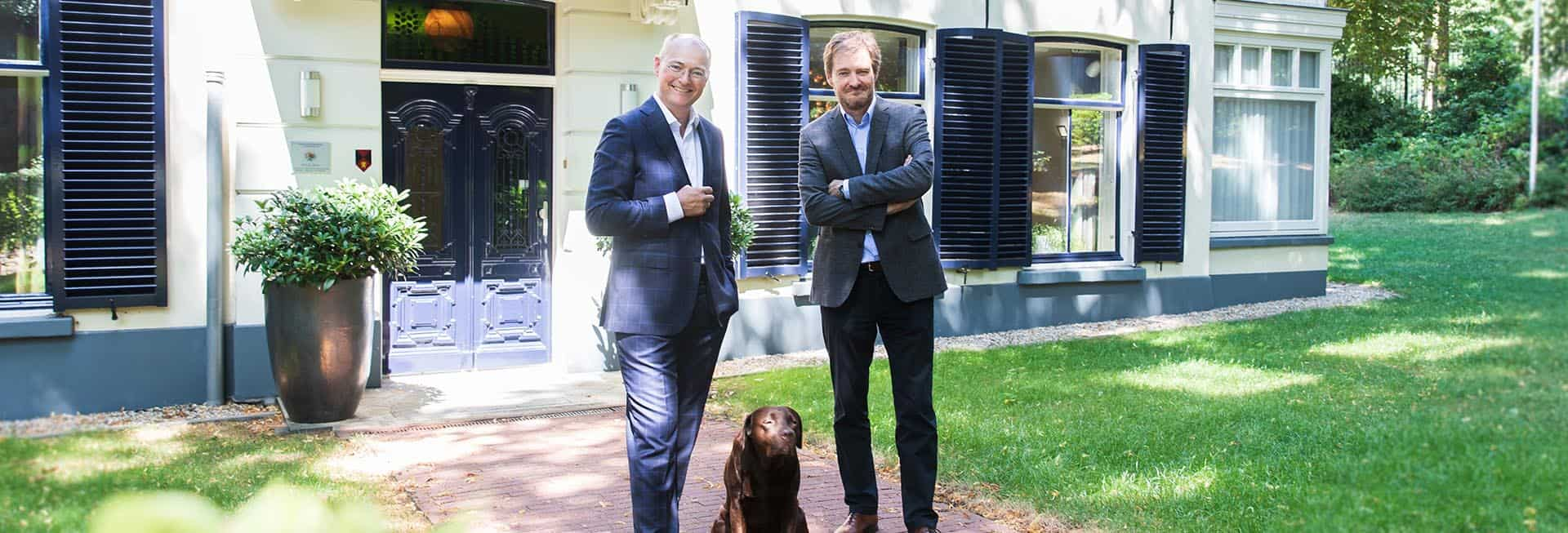 Coen en Bart Kramer